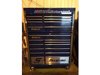 """SNAP ON 40"""" TOP & BOTTOM TOOL CHEST"""