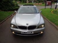 2005 BMW 7 Series 5.0 750i 4dr [SAT NAV+LEATHER+SUNROOF+PHONE+FSH]