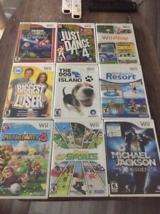 Lots of Wii Games