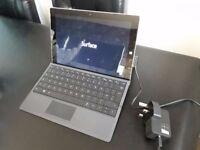 "Microsoft Surface 3 Tablet/Notebook 64gb 4gb 10.8"" Intel Quad Core"