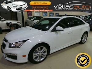 2015 Chevrolet Cruze 2LT 2LT RS| LTHR| SUNROOF| 6SPD