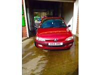 peugeot 106 for spare or repair fix