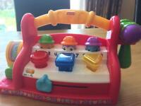 Fisher Price Laugh and Learn Learning Tool Bench Box