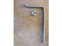 BEKO DW600 Dishwasher spare upper arm tube and back case connector.