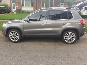 VW Tiguan loaded highline TSI Turbo