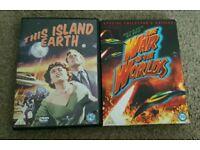 Classic scifi dvds
