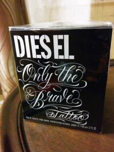 DIESEL, 90$ ONLY THE BRAVE TATTOO EDT FOR MEN PERFUME PA