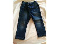 Boys jeans 12-18 months