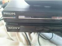 Two HDMI dvd players