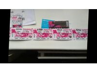 Creamfields tickets x3