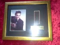 Elvis Presley Limited Edition Framed Film Cell- Love Me Tender