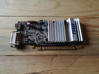 MSI Radeon 5450 graphics card