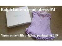 Girls Ralph Lauren Tennis Dress