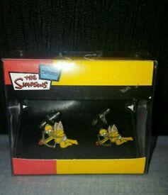 Homer Simpson Cufflinks