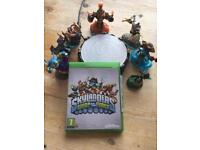 XBOX ONE - Skylanders Swap Force & characters