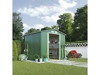 Metal Apex Garden Shed