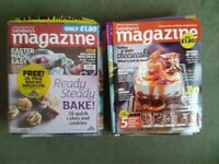 Lot of 25 Issues of Sainsbury's Magazine 2012 to 2014 recipes, baking, cooking, food, lifestyle
