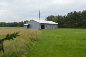 Hobby Farm, barn 3+1 bungalow pasture, hay fields,