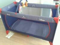 Hauck Disney travel cot/ playpen