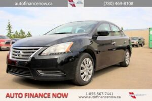 2014 Nissan Sentra S 6MT REDUCED PAYMENTS INSTANT CREDIT CALL !!