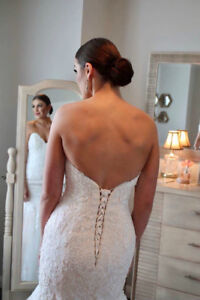 Maggie Sottero Wedding Dress/Cathedral Veil for SALE