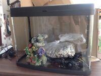 Aquarium full set up