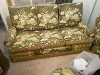 3 seater vintage sofas