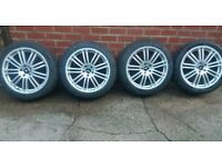 "REFURBED GENUINE 19"" RARE STAGGERED S550 S600 C550 C600 MERCEDES ALLOY WHEELS E S VITO VANEO ET"