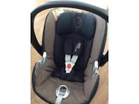 Cybex Aton car seat and isofix