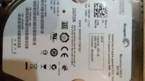 250GB Seagate Momentous Laptop SATA Hard Drive