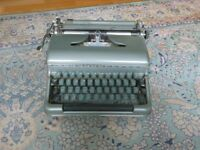bluebird type writer