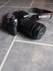 Canon T3 with EFS 18-135 lens