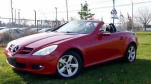 2007 Mercedes-Benz SLK-Class SLK 250 Red Automatic Hard Top Conv