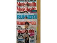 Men's Health - Women's Health - Forever Sports Magazines