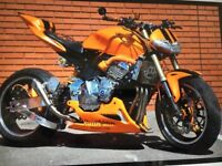 STREET FIGHTER BIKE 600cc SHOW BIKE With LOADS of EXTRAS ONE OFF!!!!