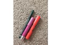 Lip crayons and lip liner
