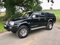 2004 L200 100k New Mot, alloys, full black leather