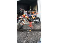 MINT 2017 ktm150sx (Not rm rmz yz yzf tc sxf kxf kx cr crf 125)