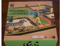 Brand new WWF Petits Chevaux du Safari Race board game