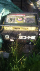 Champion generator for sale.