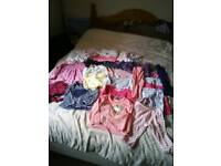 26 items of girls clothes 1 1/2 - 2 years.