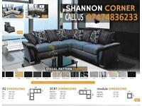 Good Quality Fabric Shannon Sofa So