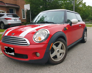 2008 Mini Cooper Chilli red