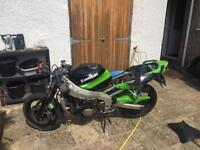 Kawasaki Zx6r J, G Zx636r ap1 lights, fairing, rearsets, and other parts