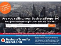 Post Your Businesses For Sale FOR FREE!