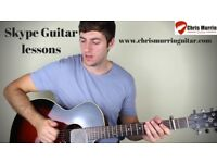 Skype Guitar Lessons for the Advancing Player - Acoustic/Electric