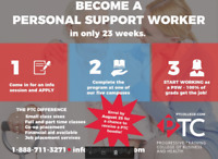 Personal Support Worker Classes Starting Soon