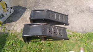 Car ramps. Used