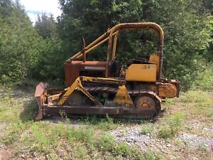 John Deere 450 Dozer For Parts