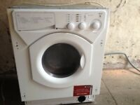 Integrated washing